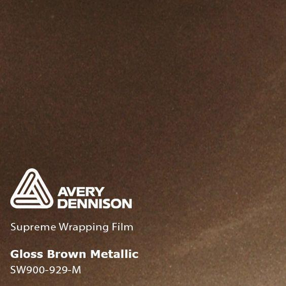 Avery Dennison - SW900 - Gloss Metallic Brown