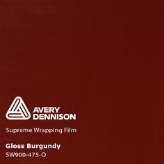 Avery Dennison - Gloss Burgundy