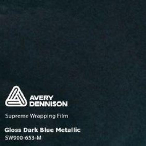 Avery Dennison - Gloss Metallic Dark Blue