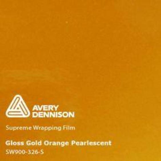 Avery Dennison - Pearl Gold Orange