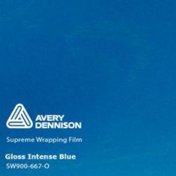 Avery Dennison - Gloss Intense Blue