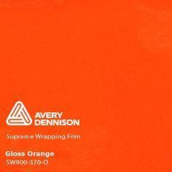 Avery Dennison - Gloss Orange