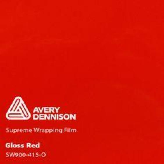 Avery Dennison - Gloss Red