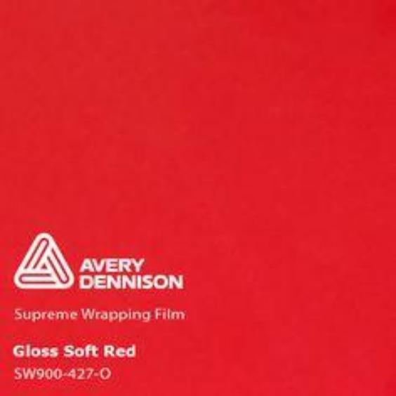 Avery Dennison - Gloss Soft Red