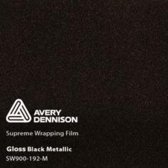 Avery Dennison - Gloss Metallic Black