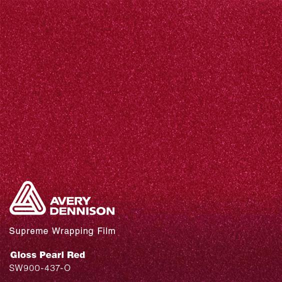 Avery Dennison - Pearl Red