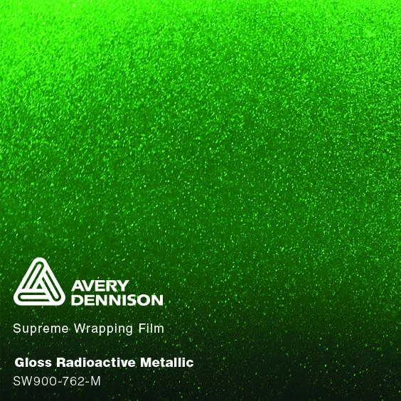 Avery Dennison - Gloss Metallic Radioactive