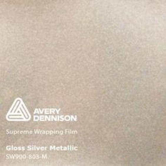 Avery Dennison - Gloss Metallic Silver
