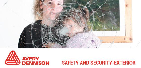 Avery Dennison - SF Clear X - Safety and Security Window Film