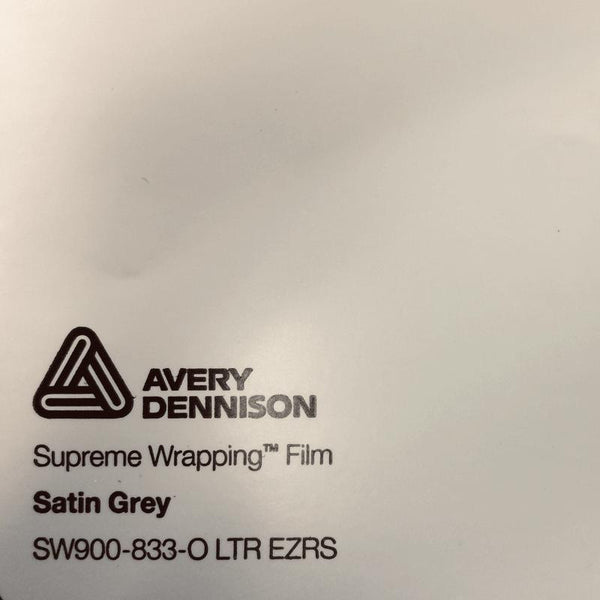 Avery Dennison - SW900 - Satin Grey