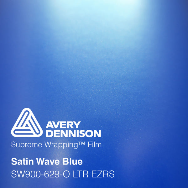 Avery Dennison - **NEW 2019** Satin Wave Blue (Full Roll Only)
