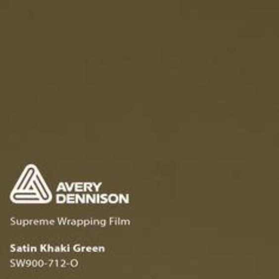 Avery Dennison - Satin Khaki Green