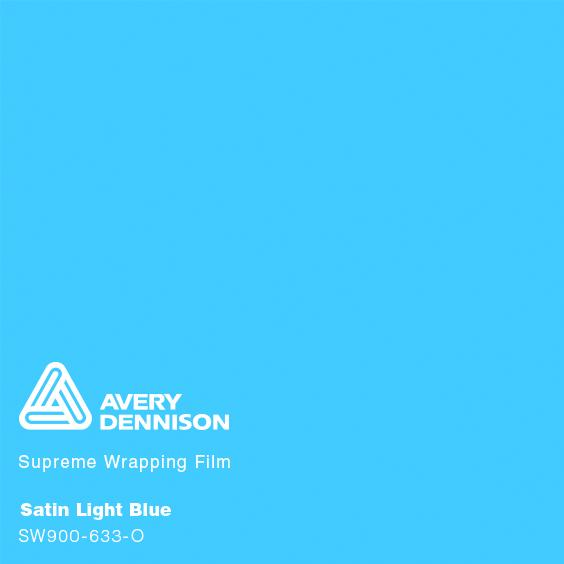 Avery Dennison - Satin Light Blue