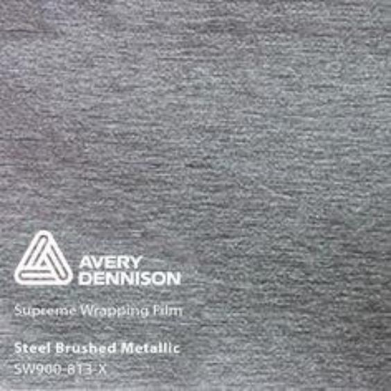 Avery Dennison - SW900 - Brushed Steel