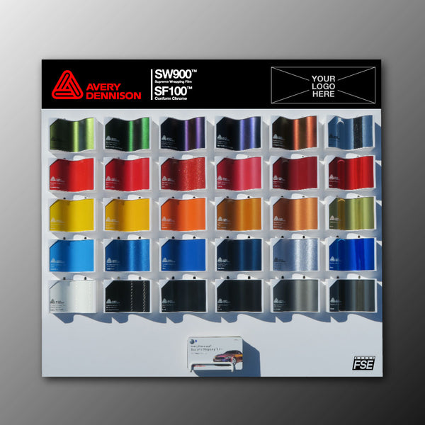 Avery Dennison Swatch Wall Display **Customize Yours**
