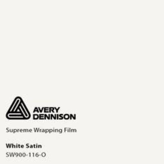Avery Dennison - SW900 - Satin White