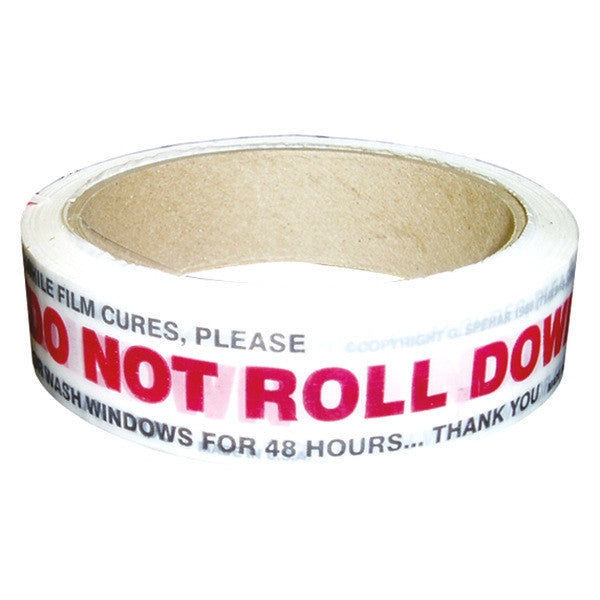 Do Not Roll Down the Window Tape - 200 Sticker roll
