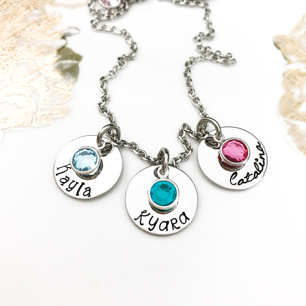 SIMPLE DISK or HEART*NECKLACE*BANGLE