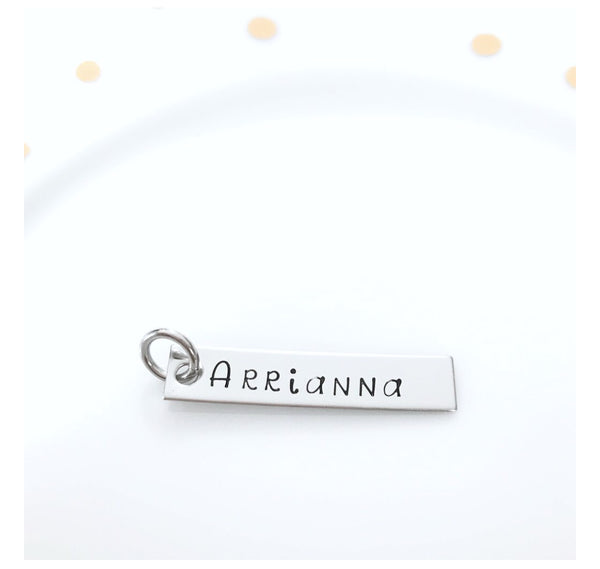 GIRL MEANINGFUL DISK KEYCHAIN