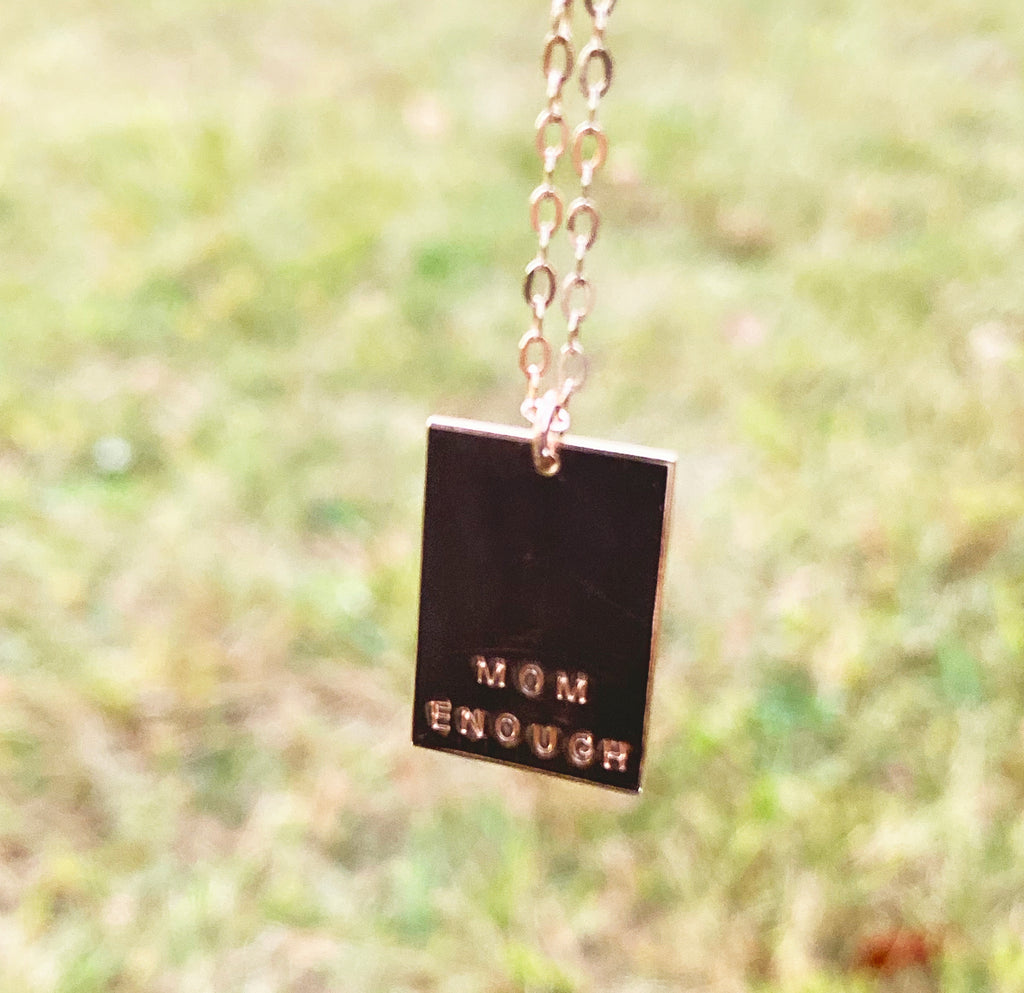 ENCHANTED RECTANGLE NECKLACE