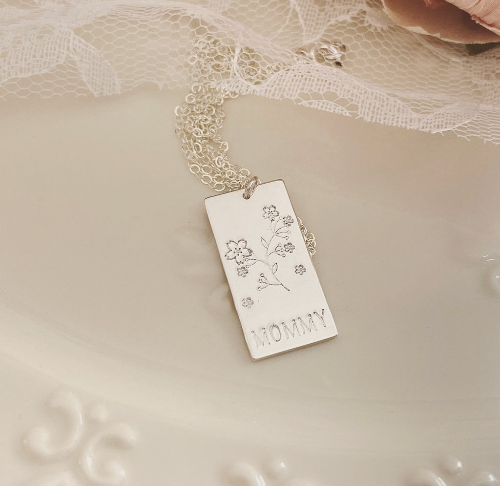 FAIRYTALE RECTANGLE NECKLACE