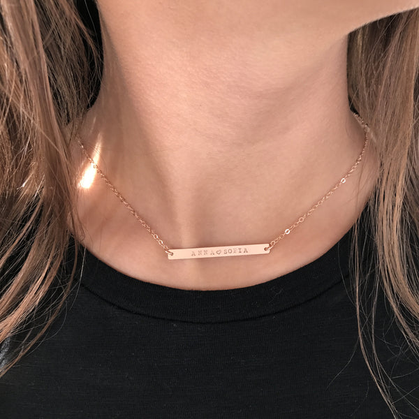 LUXURIOUS BAR NECKLACES