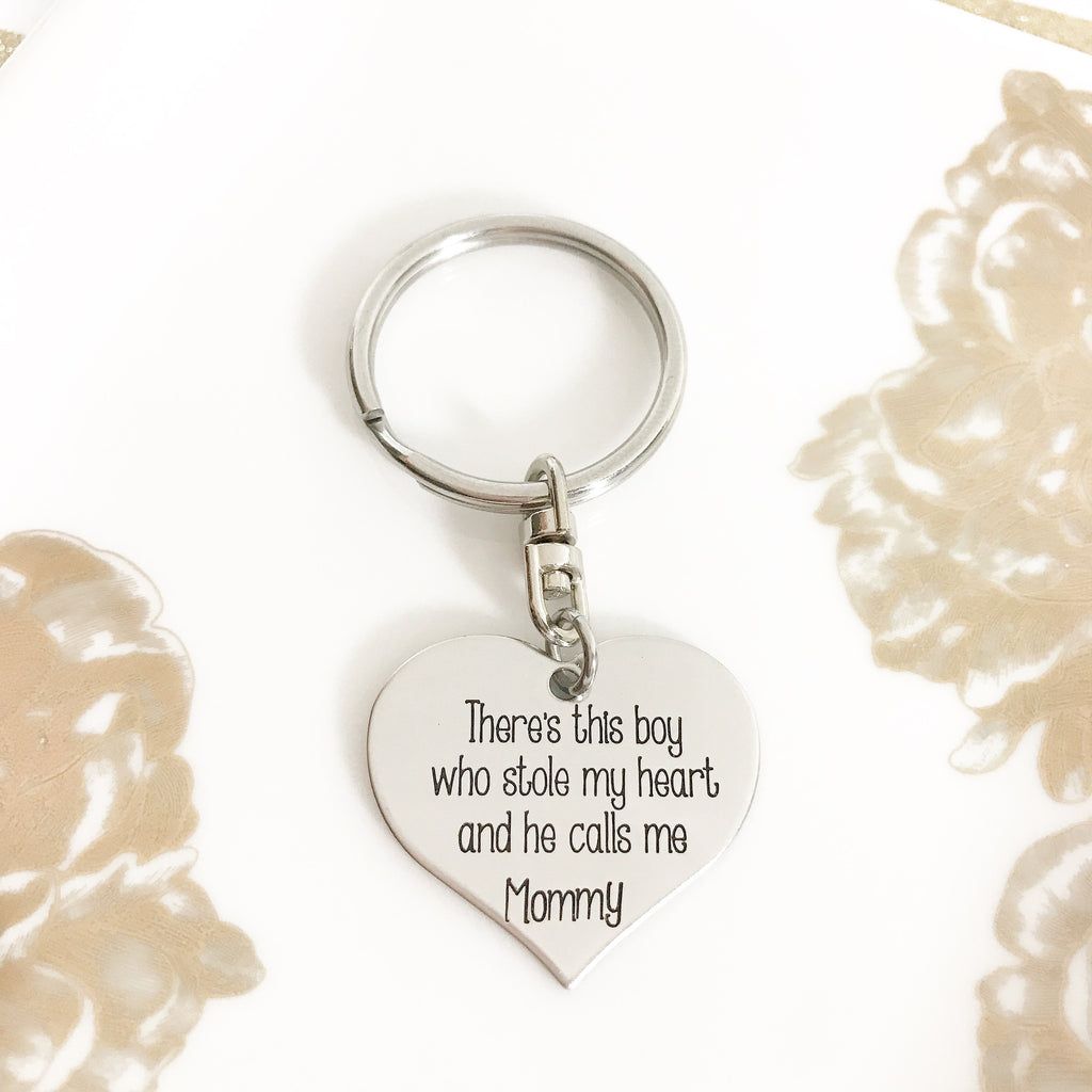 BOY MEANINGFUL KEYCHAIN