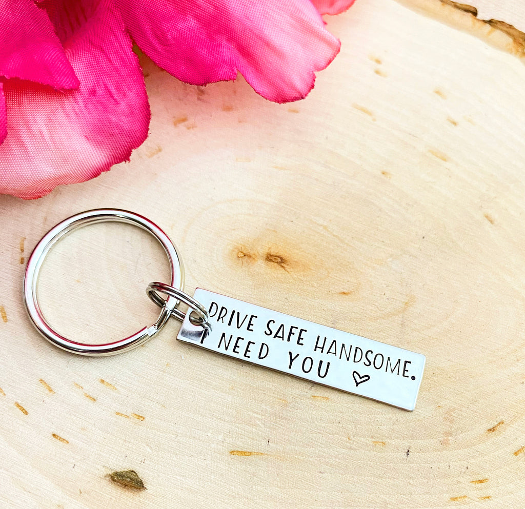 DRIVE SAFE BAR- KEYCHAIN