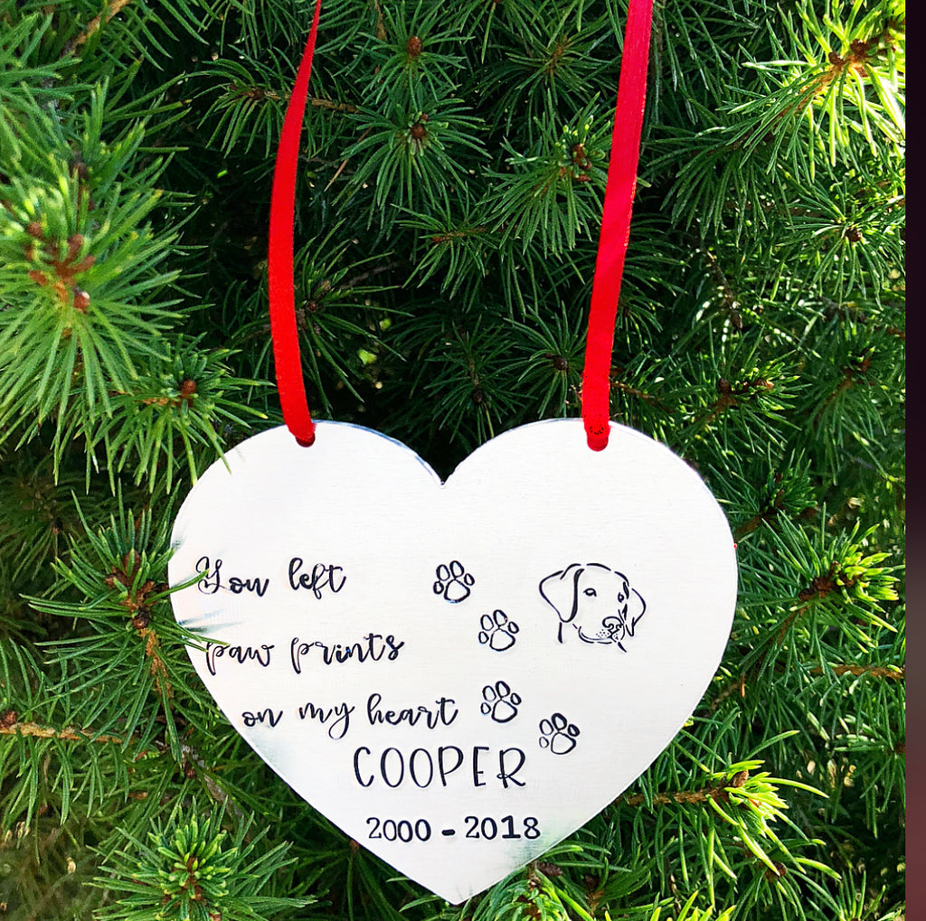 PET HEART ORNAMENT
