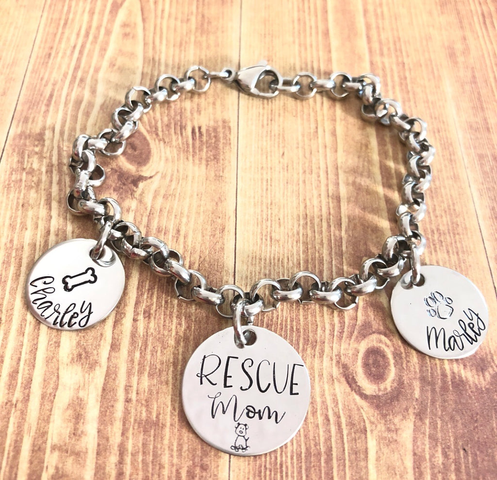 DOG MOMMY BRACELET