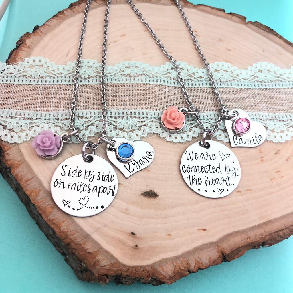 SIDE BY SIDE NECKLACE SET