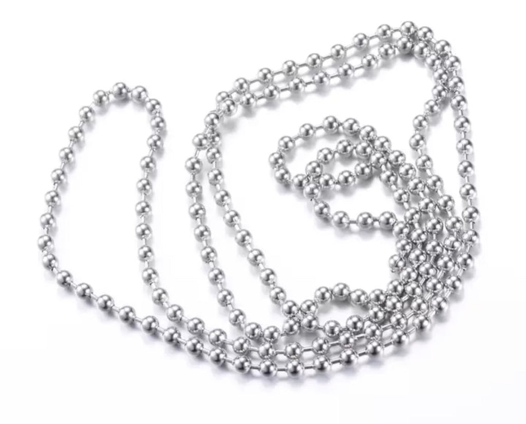 ADD ON BALL CHAIN NECKLACE