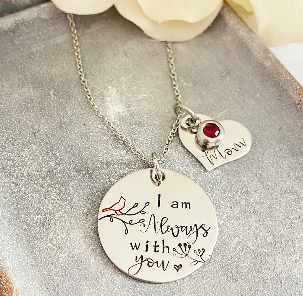 CARDINAL-ALWAYS WITH YOU NECKLACE