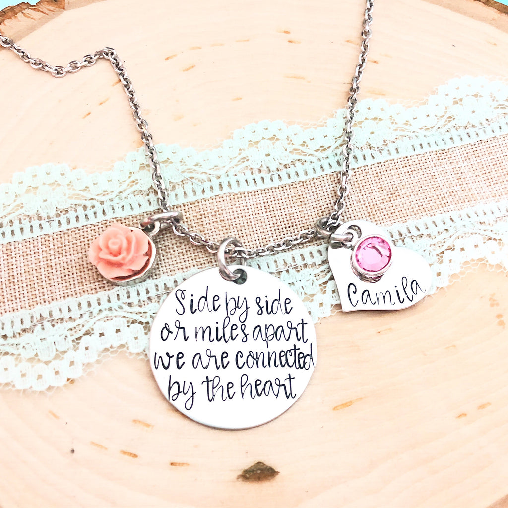 SIDE BY SIDE NECKLACE