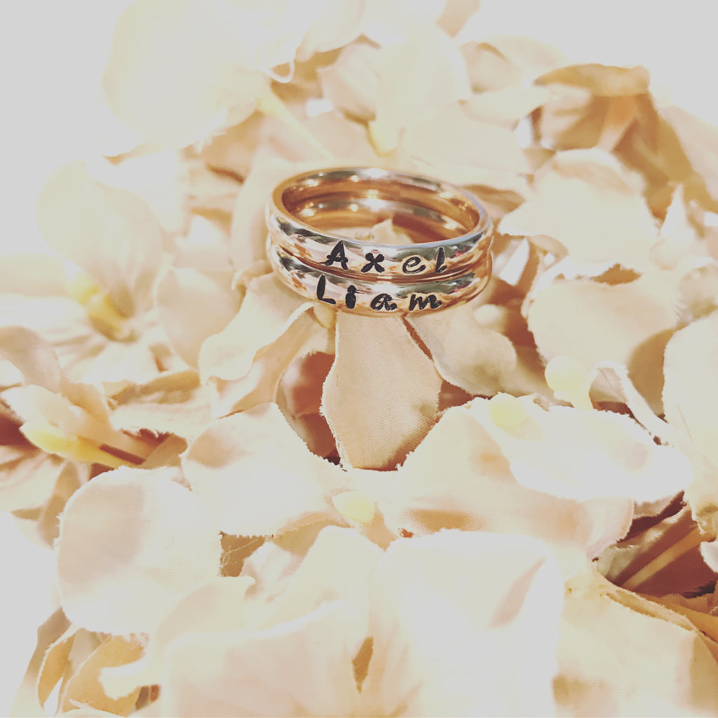 ROSE STACKABLE RING
