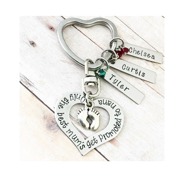 OPEN HEART KEYCHAIN