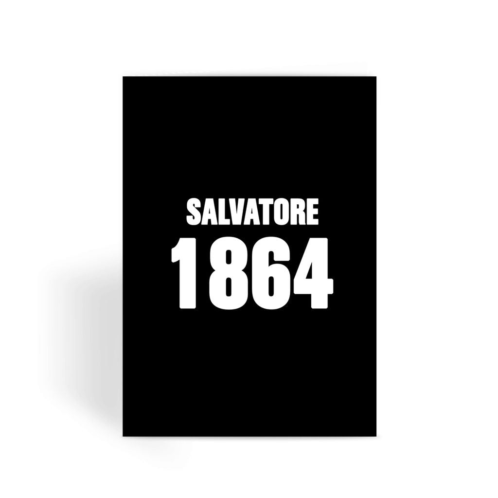 Vampire Diaries Card - Salvatore 1864 Greeting Card