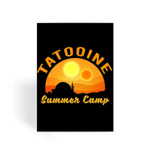 Star Wars Card - Tatooine Summer Camp Greeting Card