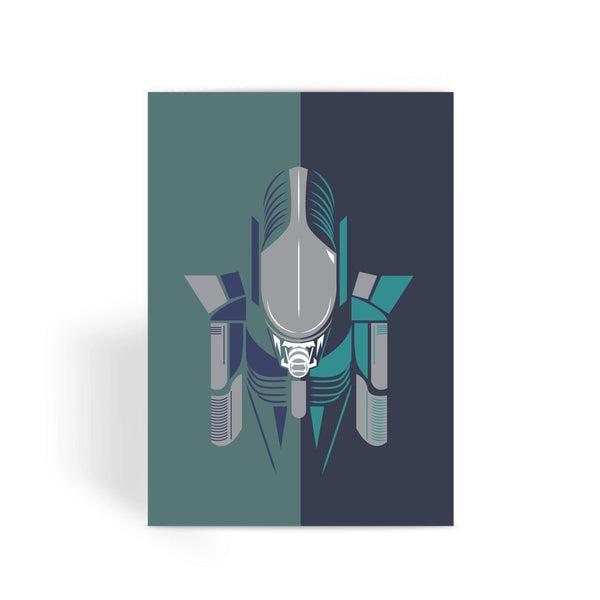 Alien Movie Card - Alien Greeting Card