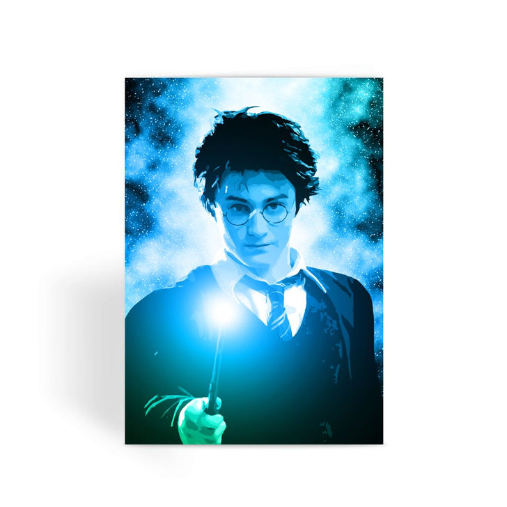 Harry Potter Card - Harry Potter Face Greeting Card