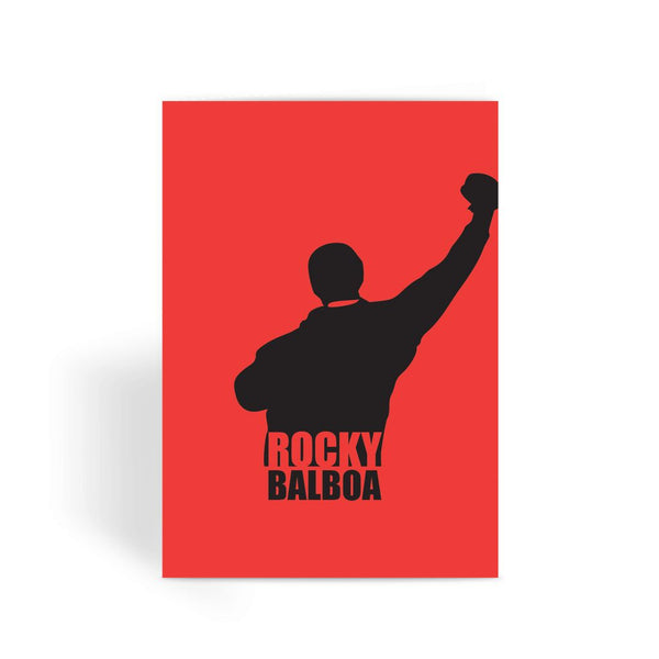 Rocky Card - Rocky Pose Greeting Card