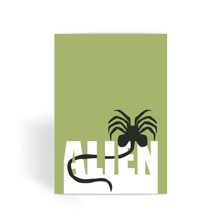 Alien Movie Card - Alien Bug Greeting Card