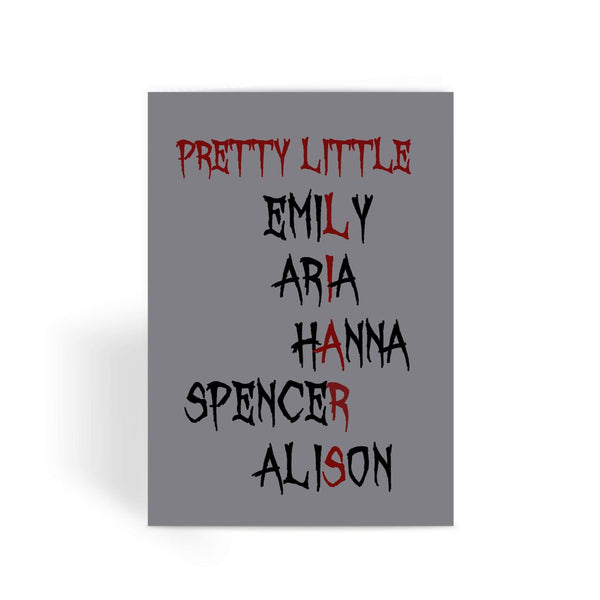 Pretty Little Liars Card - Liars Graphic Greeting Card
