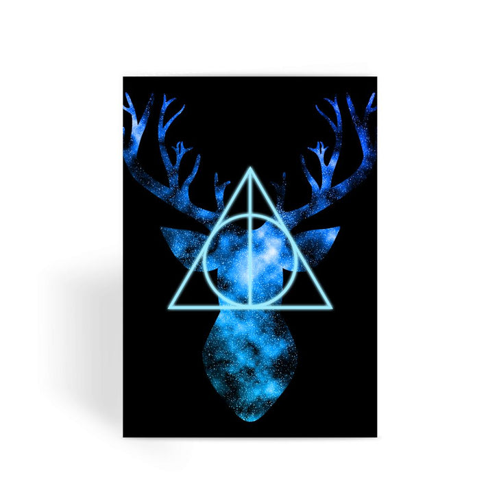 Harry Potter Card - Patronus Stag Greeting Card