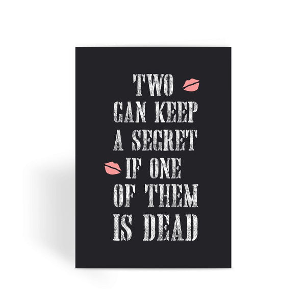 Pretty Little Liars Card - Theme Song Greeting Card