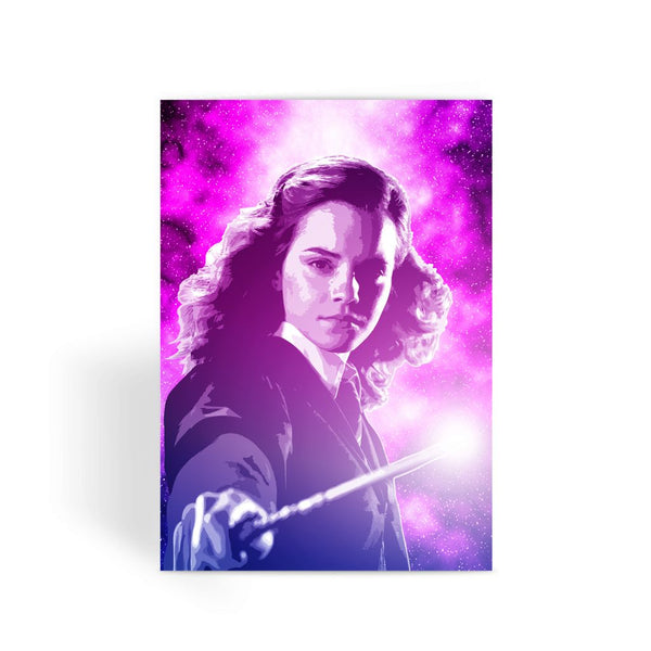 Harry Potter Card - Hermione Granger Face Greeting Card