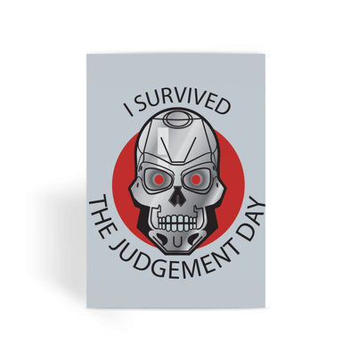 Terminator Card - Judgement Day Greeting Card