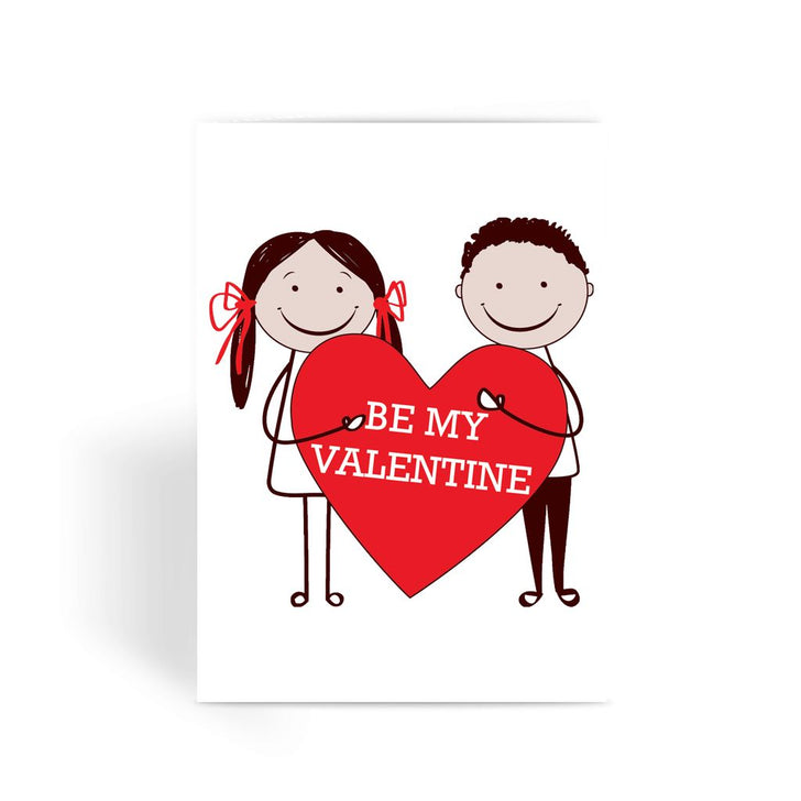 Valentines Day Card - Be My Valentine Greeting Card