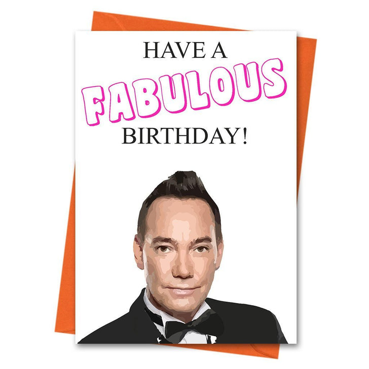 Funny Birthday Card, Strictly Come Dancing Card, Birthday Card,  - Have a Fabulous Greeting Card