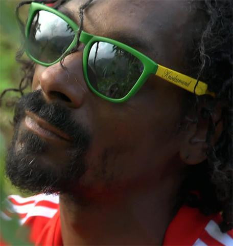 SNOOP DOGG IN KNOCKAROUND RASTA PREMIUMS